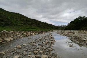Einer der beiden Flüsse, von denen Sopachuy umgeben ist